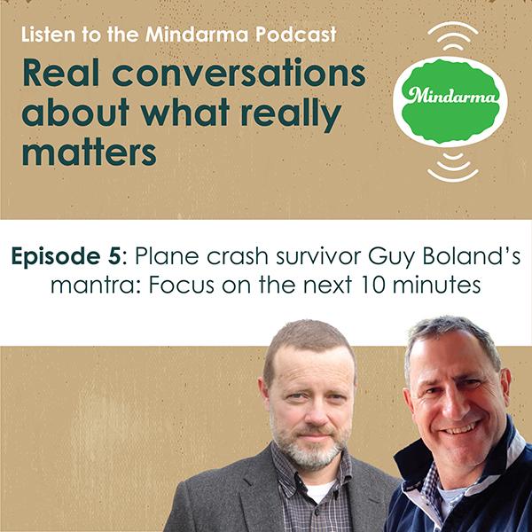 "Episode 5 with plane crash survivor Guy ""Digger"" Boland"