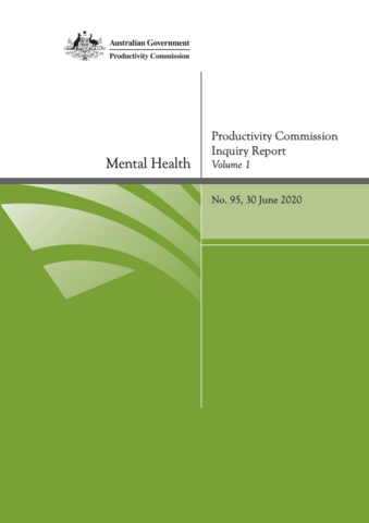 Australian Productivity Commission Report highlights need for urgent action on psychological health and safety in workplaces