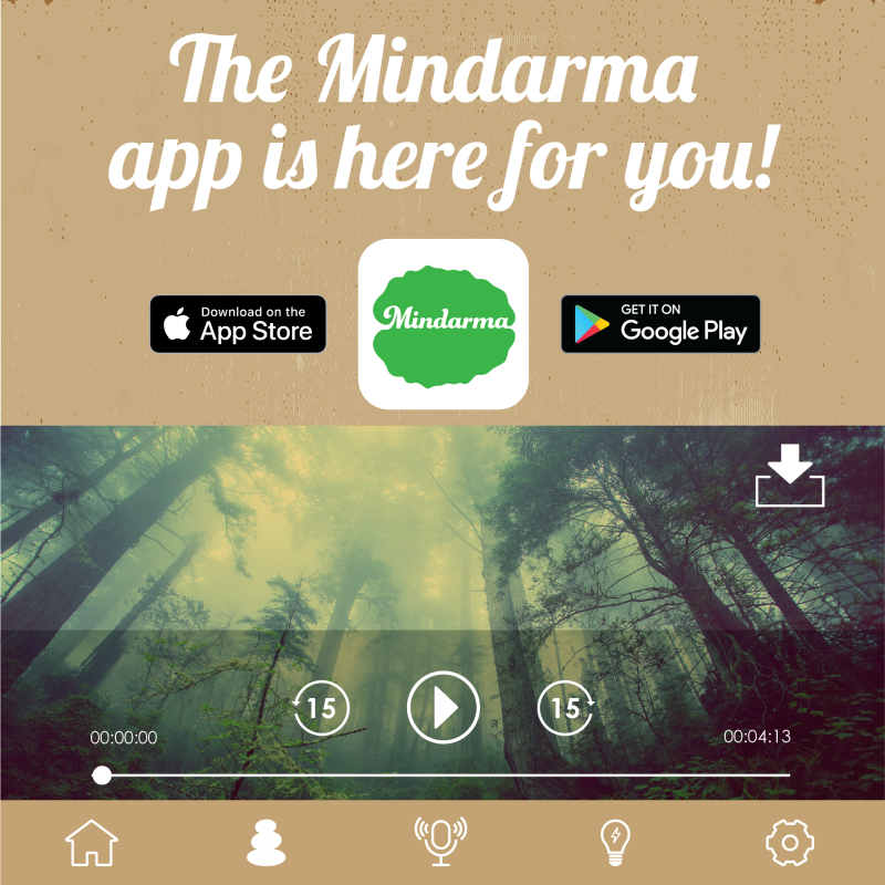 The Mindarma App is here for you!